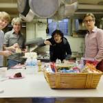taart in de keuken