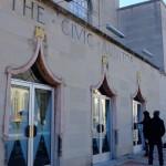 the civic auditorium