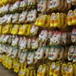 wooden shoes in holland village