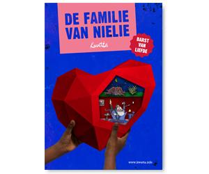 Familie van Nielie barst van liefde klein
